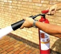 Fire-Extinguisher-in-use