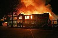 burning-school